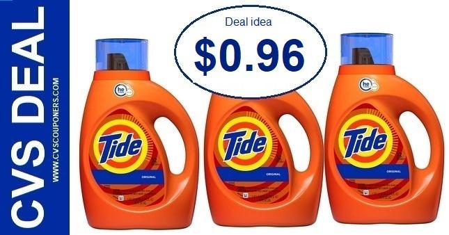 Tide Detergent CVS P&G Deal $0.96 2/23-2/29