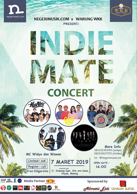 negerimusik.com Hadirkan 'Indiemate Concert' Edisi Perdana!