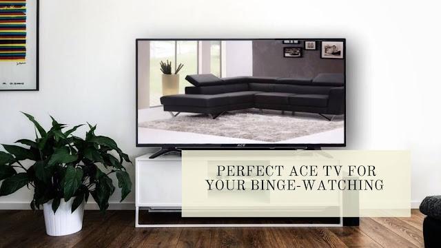 """ACE 43"""" LED TV"""