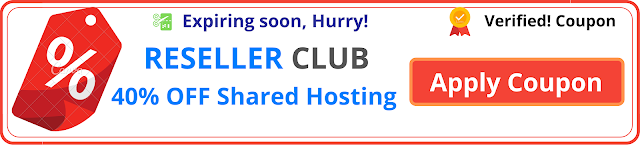 Resellerclub coupon code shared hosting