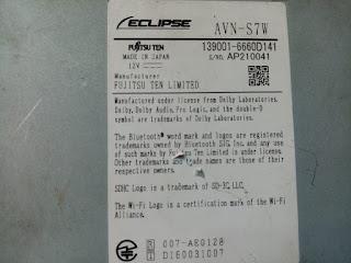 NavigationDisk | Car Radio Unlock | 日本のカーラジオロック解除ソリューション WhatsApp%2BImage%2B2020-03-27%2Bat%2B17.44.46%2B%25281%2529 Eclipse AVN S7W SD map Card and ESN Unlock Code Toyota  Eclipse AVN S7W SD