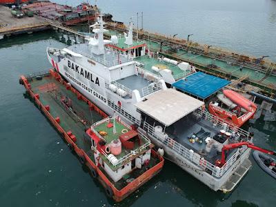 Diduga Lakukan Ilegal Bunkering, Satgas Trisula Tangkap Dua Kapal di Perairan Lampung