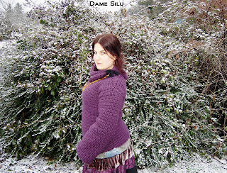 Pull laine Alaska Grundl crochet