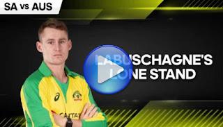 Marnus Labuschagne 108 vs South Africa Highlights
