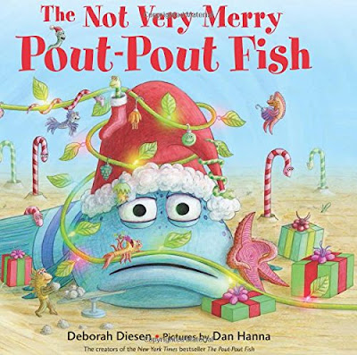 The Not Very Merry Pout Pout Fish, part of Favorite Character Christmas Book Review List for Kids