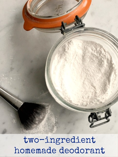 two ingredient natural deodorant that works