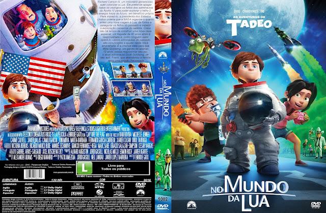 Capa DVD No Mundo Da Lua