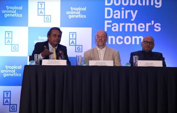 Tropical Animal Genetics Innovative Technology Platform to Double Dairy Farmers Income in India