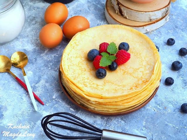 Przepis na ciasto naleśnikowe