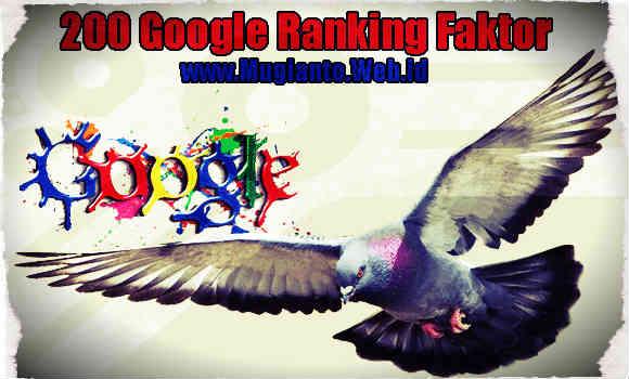 gambar 200 Google Ranking Faktor Indikator