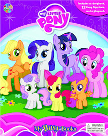 MLP My Busy Book Book Media