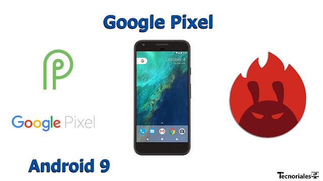 google pixel android 9 antutu benchmark