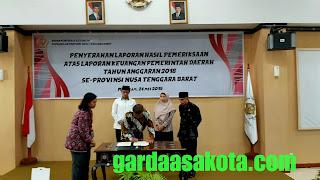 Pemkot Mataram Raih Opini WTP Yang Kelima Kali dari BPK Perwakilan NTB