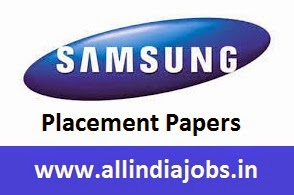 Samsung Placement Papers