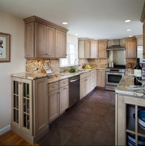 20+ Driftwood Style Kitchen Cabinets Background