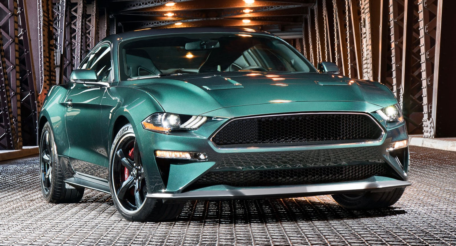 The Rumors Were True As Ford Presented A New Generation Of Its Lauded  Mustang Bullitt Based On The S 550 At The Detroit Auto Show On Sunday.