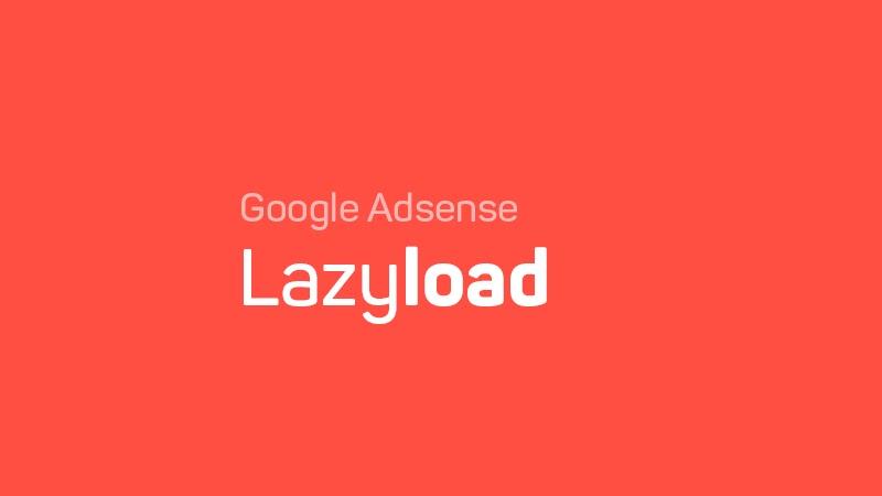 Adsense Lazyload