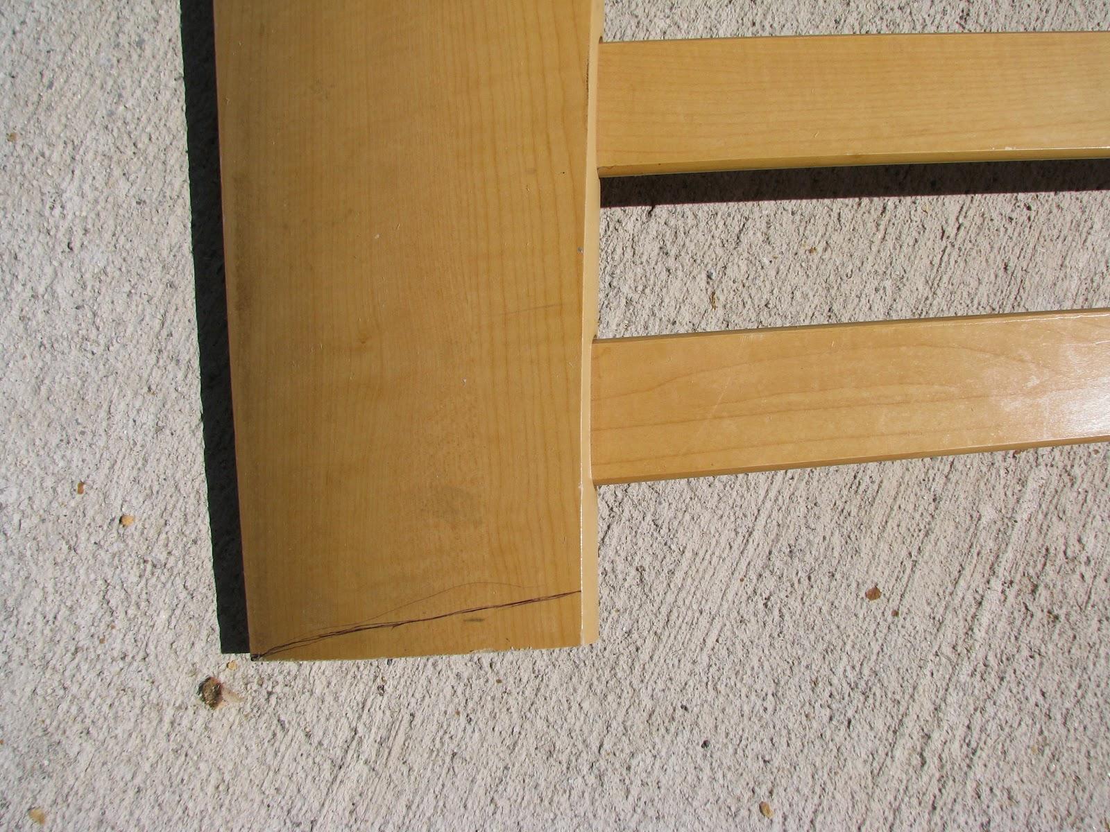 Sleigh Headboard Bench Diy