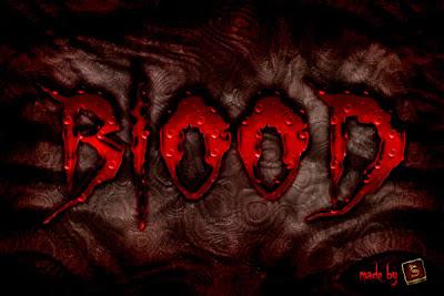 letras sangre