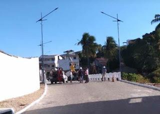 Nas redes sociais o vereador Raimundo Macedo comemora entrega da ponte que liga o Cordeiro ao Bairro Novo em GBA