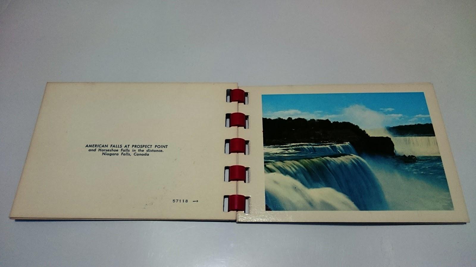 ナイアガラの滝の小さな写真集