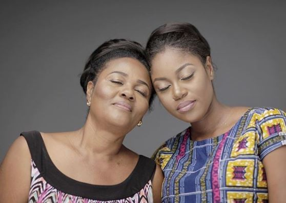 ' 61-years Vs 32-years' - Yvonne Nelson and her mum look adorable in new photo