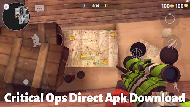 Critical Ops Gameplay Screenshot #1