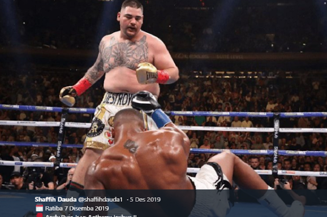 Defeated by Anthony Joshua, Andy Ruiz Jr. Asks Help to Former Coach Mike Tyson.