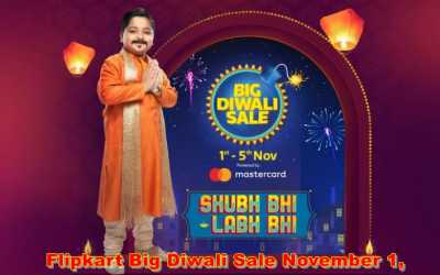 Flipkart Big Diwali Sale November 1, ready to go for these offers