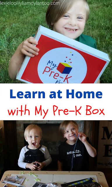 Learn at Home with My Pre-K Box