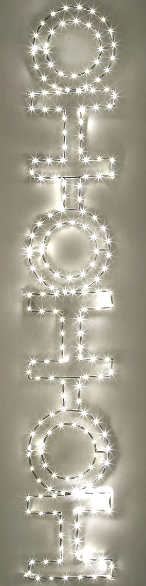 Light-up Holiday Signs