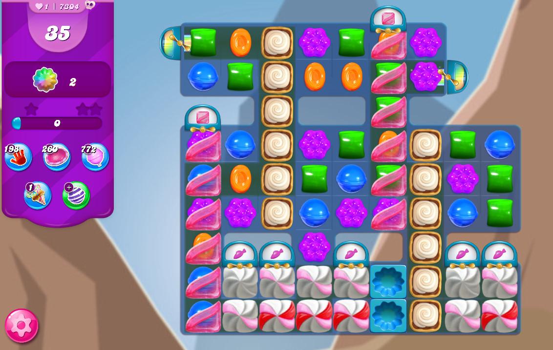 Candy Crush Saga level 7304