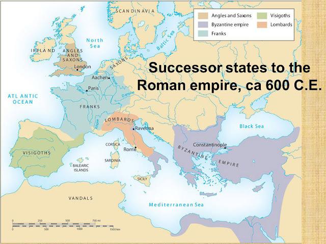 Post-Justinian Byzantine territory byzantium.filminspector.com