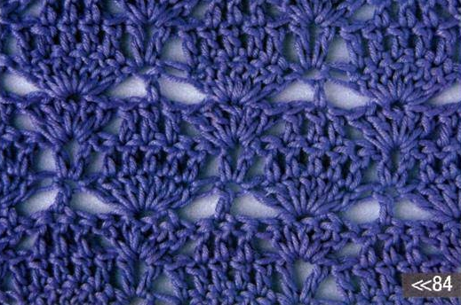 Patrón 974 Punto Calado a Crochet.