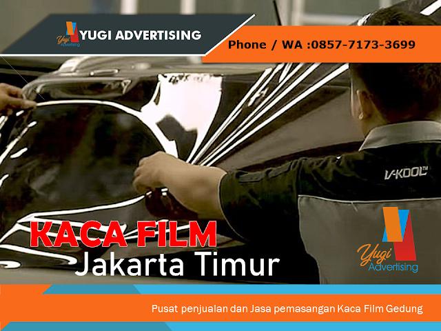Distributor & Jasa Pemasangan Kaca Film Jakarta Timur