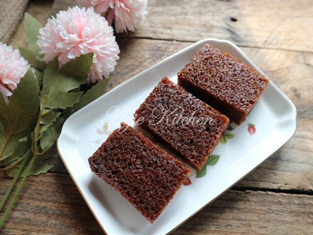 Kek Gula Hangus Menggunakan Periuk Noxxa