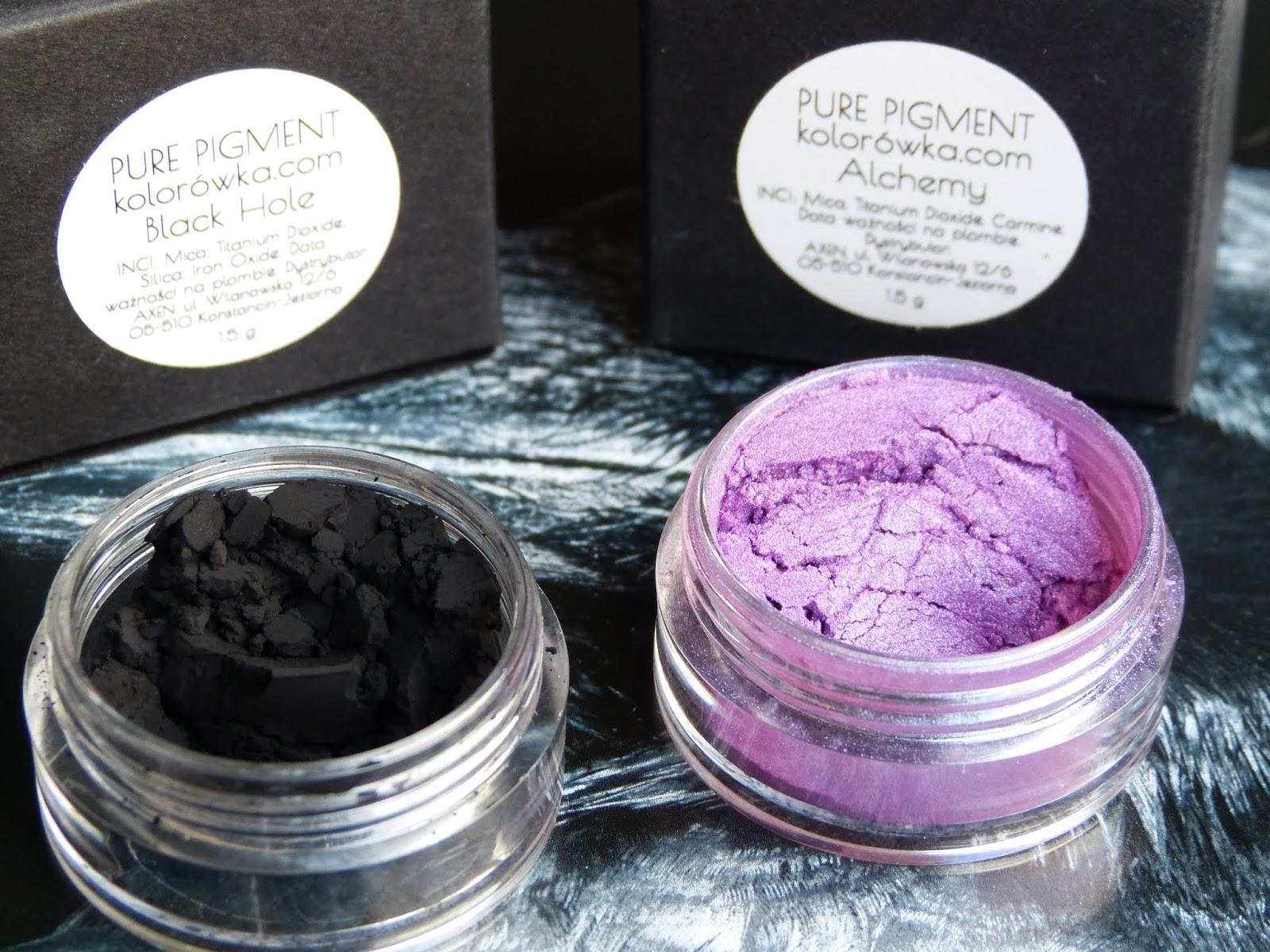 OH! Pure Pigments: Alchemy i Black Hole - duochrome i najczarniejsza czerń