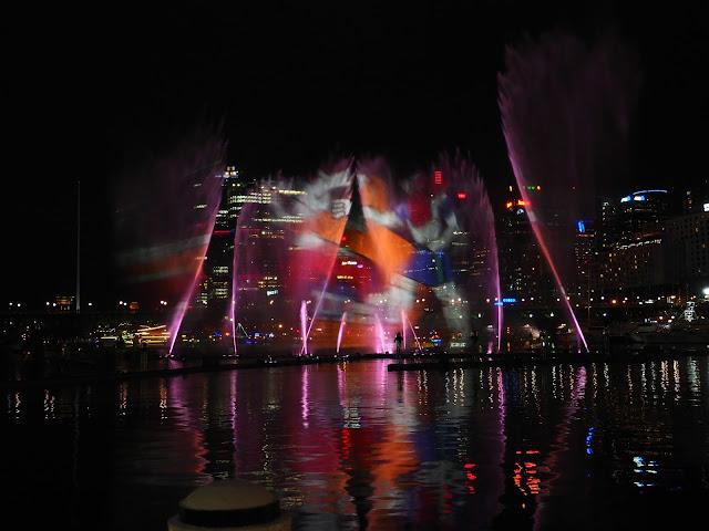 Darling Harbour Vivid Festival Sydney