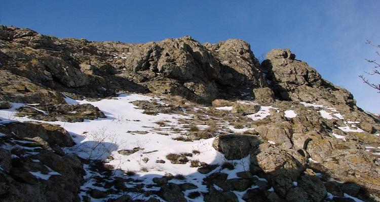 Iarna în Munții Măcinului
