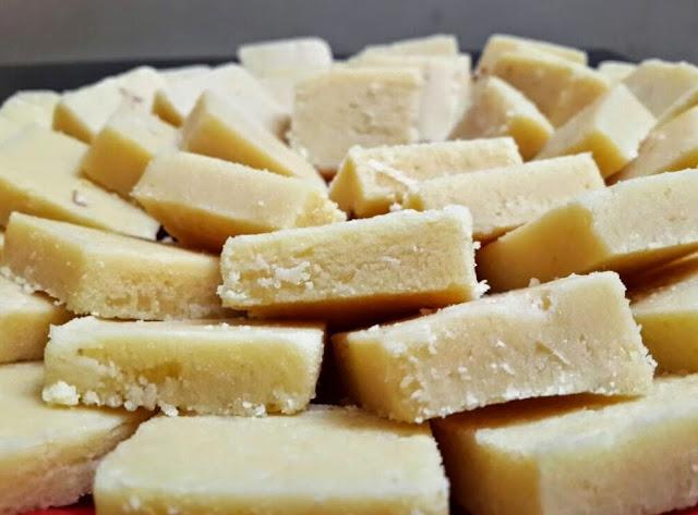 Barfi Recipe In Urdu برفی بنانے کا طریقہ