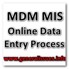 MDM_MIS_Online Data_Entery_Process