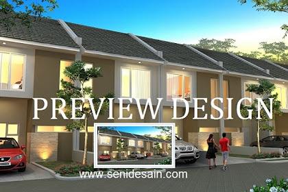 Jasa pembuatan design 3ds perumahan mewah berkualitas