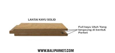 Jual kayu solid