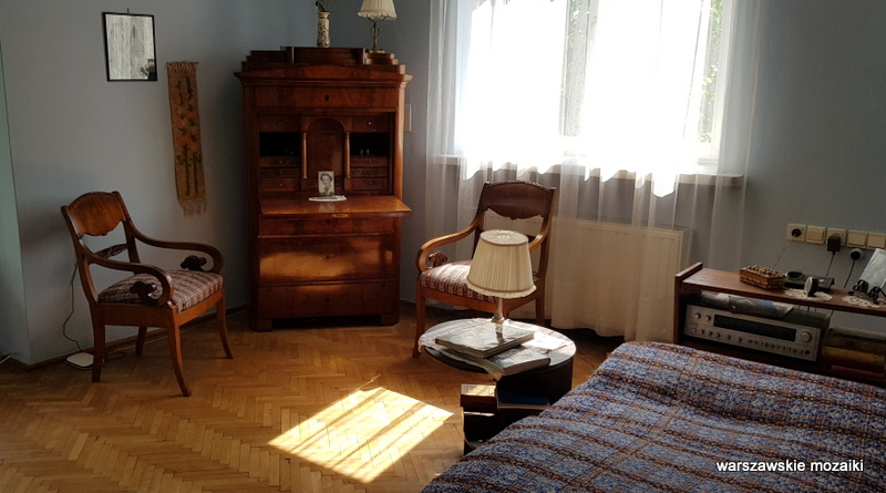 pokój Warszawa Warsaw willa architektura muzea Mokotów pisarz poeta