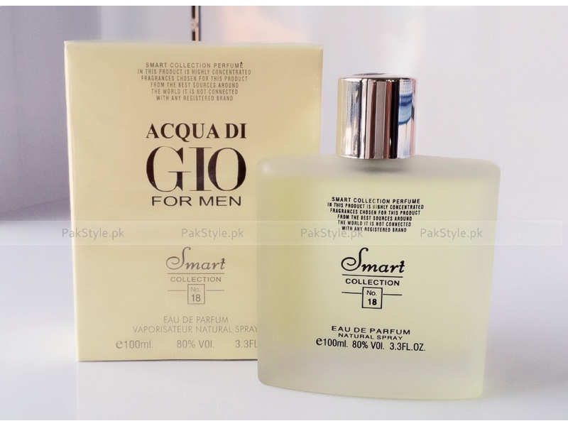 Smart Collection Acqua Di Gio 100 ml For Men No 18