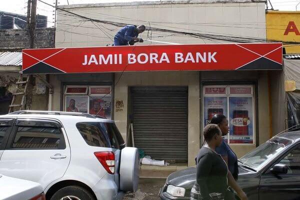 Jamii Bora bank branch
