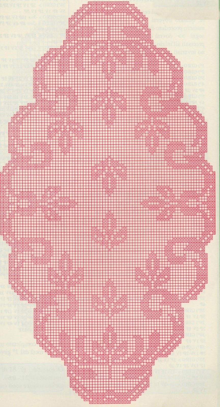 Professione donna schemi filet delicato trittico for Trittico per camera da letto