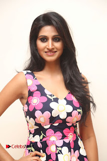 Model Shamili Latest Pictures in Floral Short Dress  0003