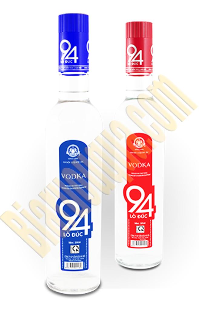 Rượu Vodka 94 Lò Đúc chai đỏ 35%