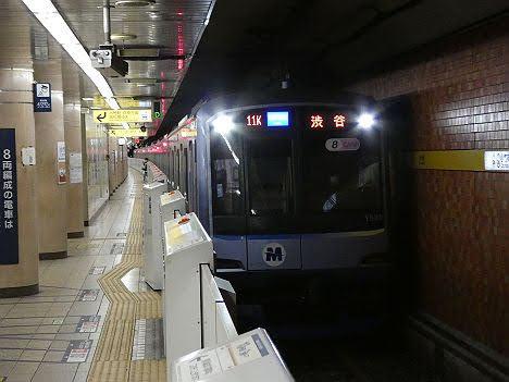 【速報】副都心線で渋谷行きのY500系が運行される